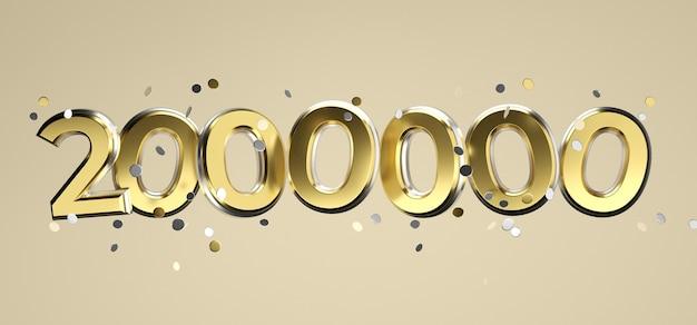 Социальная сеть сми любовь и как значок сердца с двумя миллионами подписчиков подписывают на розовом фоне. 3d рендеринг