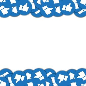 Social network fan base design image
