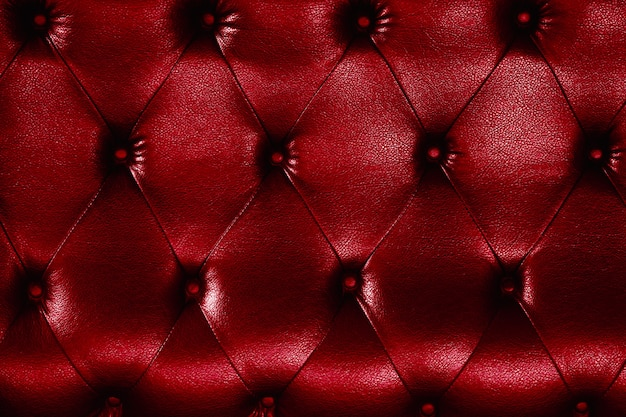 Sofa leather texture and background.