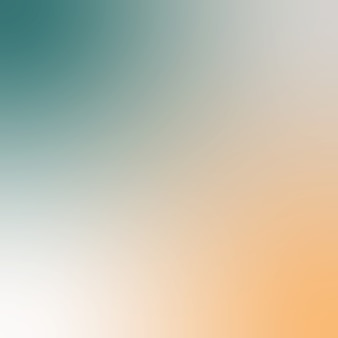 Мягкий абстрактный градиентный фон. цветной плавный фон. темно-зеленый и оранжевый приглушенный цвет. квадрат