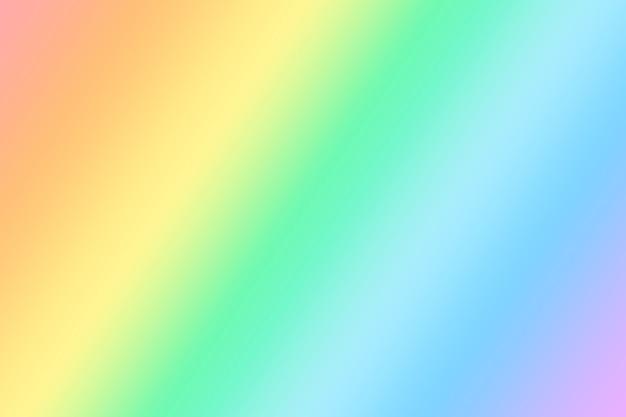 柔らかく繊細な虹色の明るい背景。 lgbtシンボルグラデーションの背景。