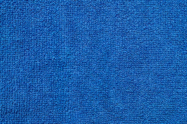 Soft blue textile cloth fabric texture backdrop.
