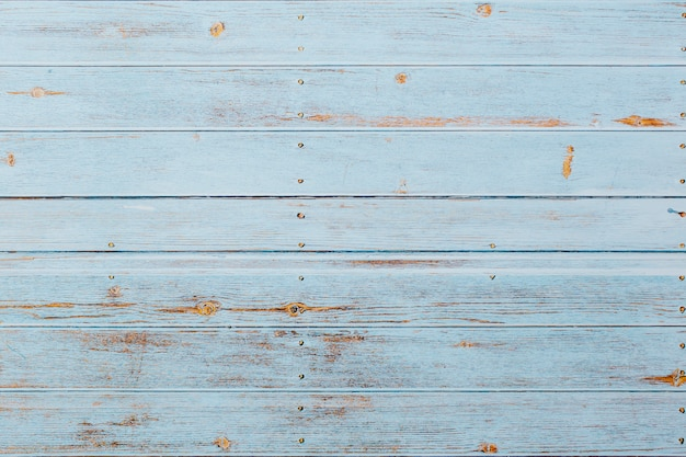 Soft blue wooden background