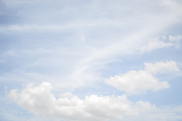 A soft cloud background ,blue sky with cloud