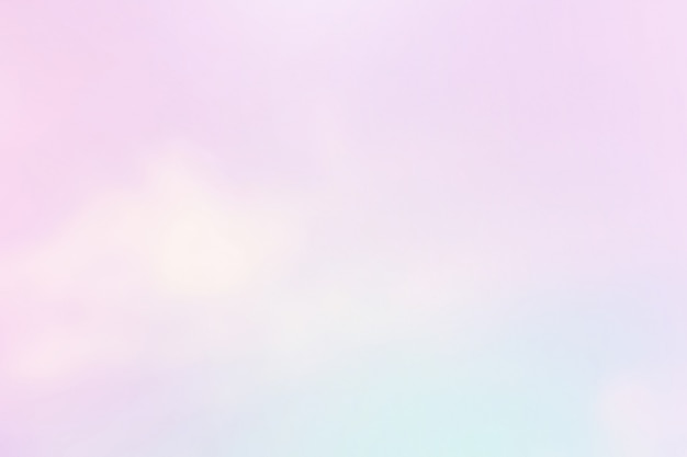 Soft cloudy in gradient purple