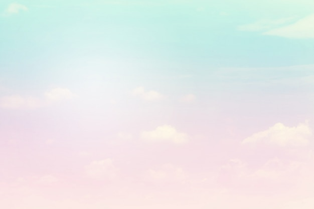 Soft cloudy is gradient pastel, abstract background