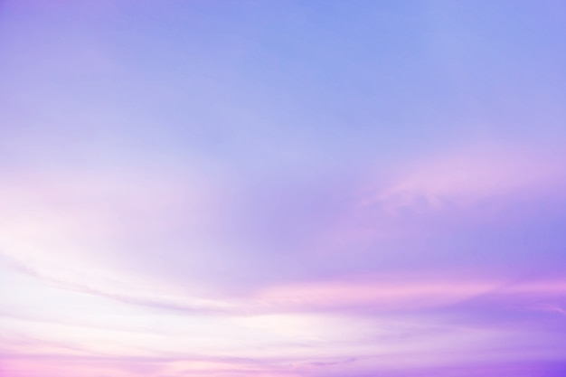 Soft cloudy is gradient pastel background