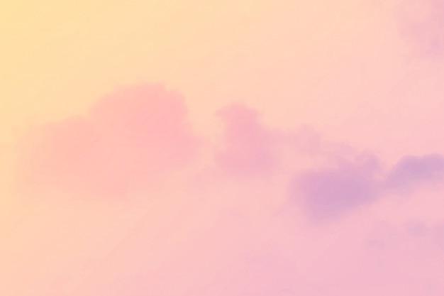 Soft cloudy pastel gradient background