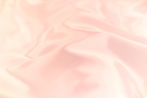 Soft focus of pastel color silk fabricl background texture.