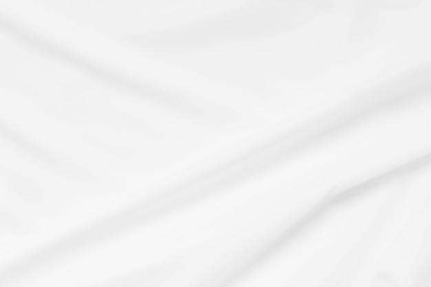 소프트 포커스 흰색 부드러운 리플 린넨 패브릭 질감 벽