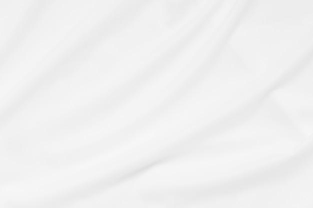 ソフトフォーカスホワイトスムースリップルリネン生地テクスチャ壁