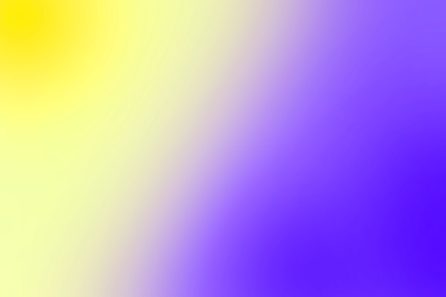 Soft gradation of colors