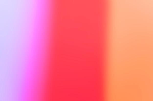 Soft gradient of colors