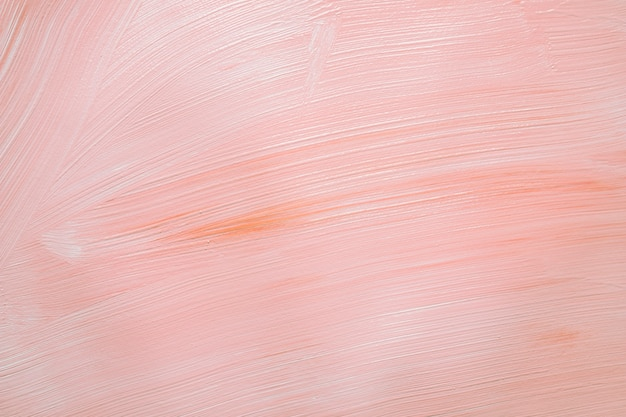 Soft pink paint in texture