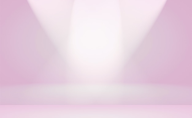 A soft vintage gradient blur background with a pastel colored well use as studio room, product presentation and banner.