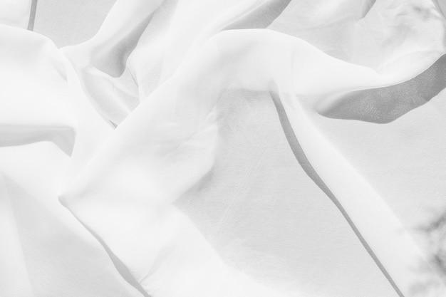 柔らかな白い布のテクスチャ