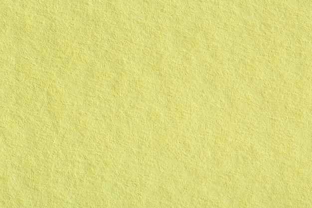 부드러운 노란 종이 질감. 고해상도 사진입니다.