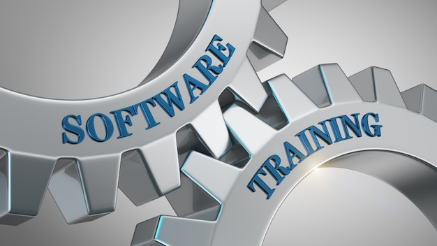 Software training background
