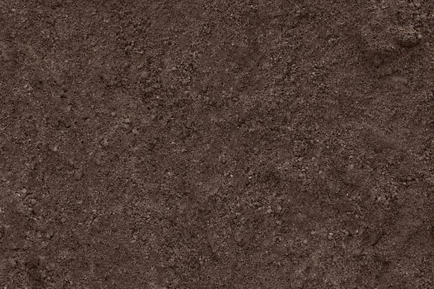 Soil clean ground texture.