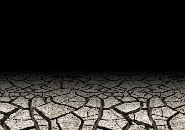 Soil drought cracked and dry. world environment day. save earth save life. natural background and texture