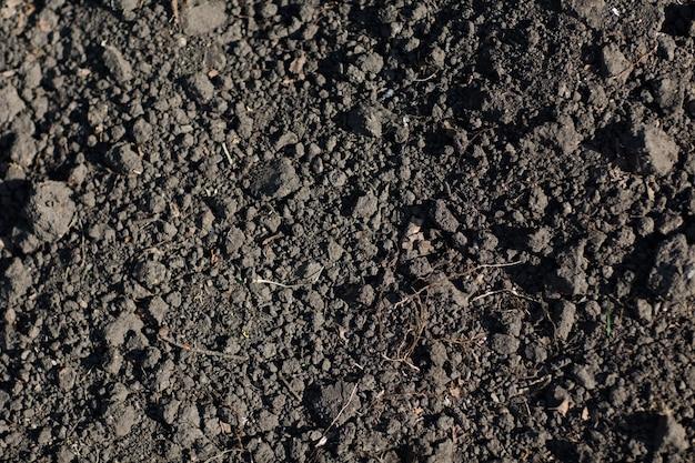 토양 지상 질감 배경 패턴입니다. 흙 지구.