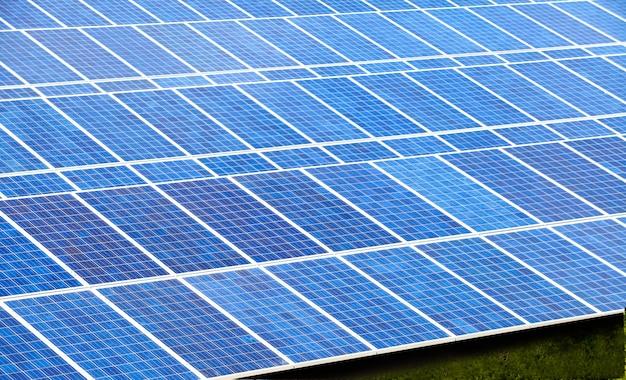 Solar cell farm for green energy