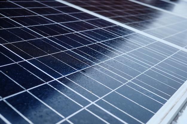 Solar energy panel voltaics module. solar cell system
