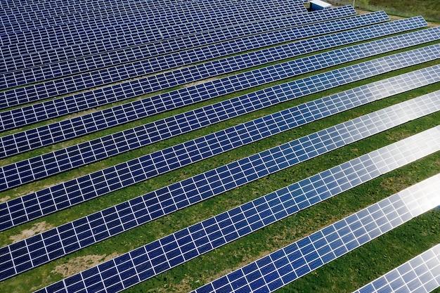 Solar panel produces green, environmentaly friendly energy.