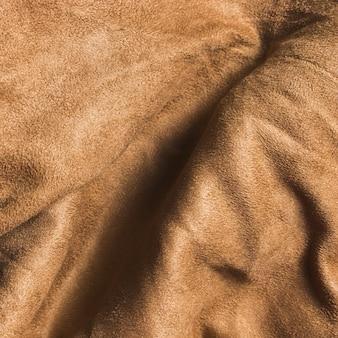 カーテン用のしっかりとした曲線の茶色の生地