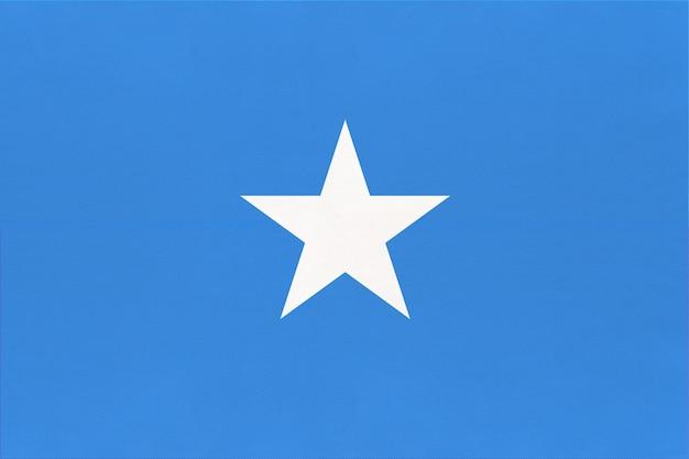 Somalia national fabric flag