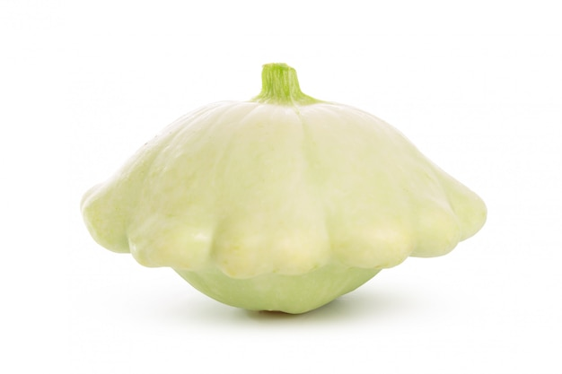 Sommer squash isolated on white