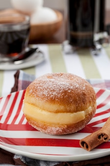 Sonho, a traditional pastry, made in brazilian bakeries.