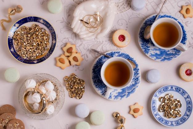 Sofisticato arrangiamento per un tea party