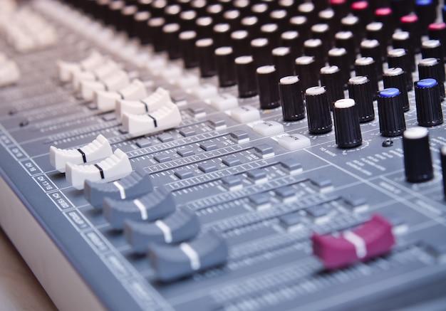 Sound equalizer mixin