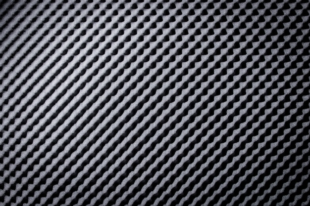 Sound proof acoustic black gray foam absorbing
