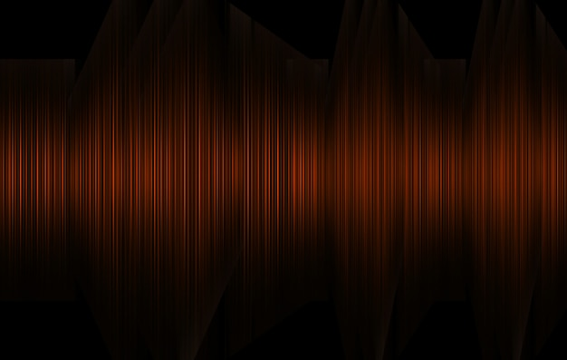 Sound waves oscillating