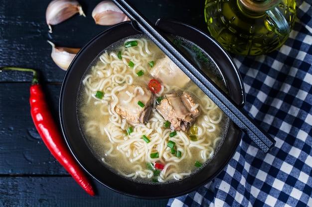 Soup pork ribs