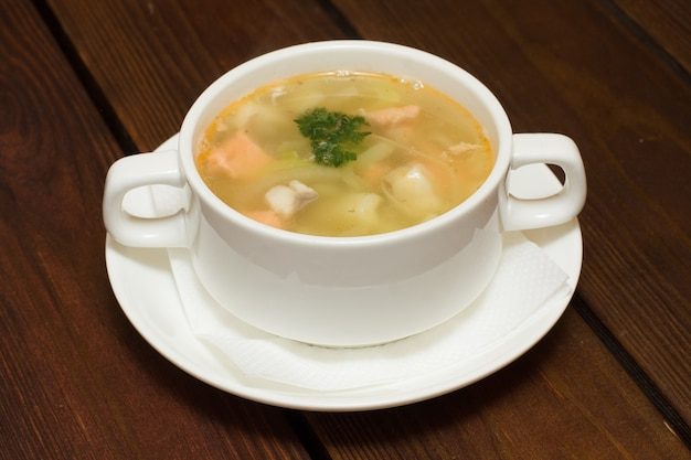 해산물 수프