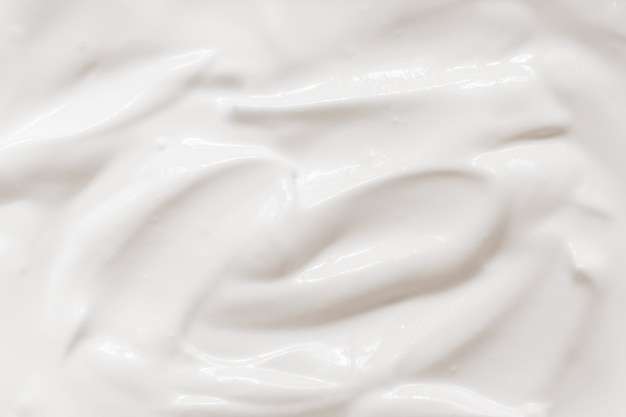 Sour cream, yogurt texture