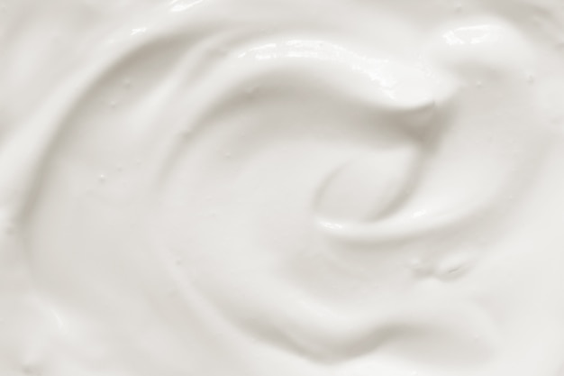 Sour cream yogurt texture