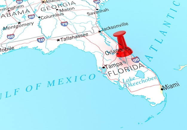 Source map: http://www.lib.utexas.edu/maps/united_states.html#usa 3d rendering