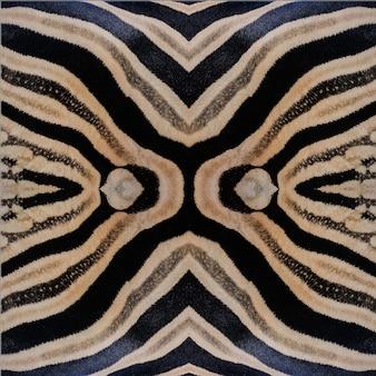 南アフリカクルーガー野生動物自然保護区と野生のゼブラ肌の抽象的な背景