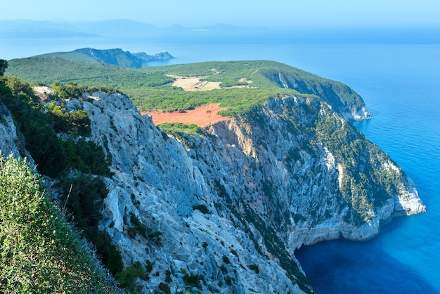 South cape of lefkas island (greece, ionian sea)