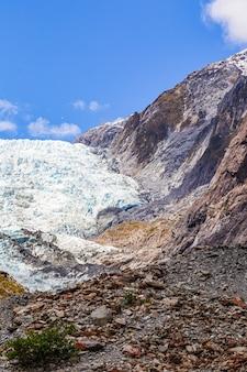 Южный остров ледник франца иосифа портрет новая зеландия