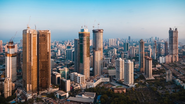 South mumbai skyline real estate in lower parel worli