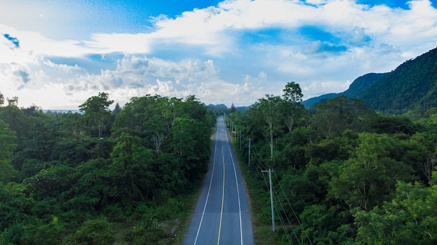 The south west causeway of aceh province