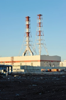 South-west thermal power station in st. petersburg, russia
