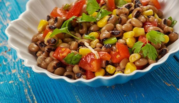 南黒目豆のサラダまたはサルサ