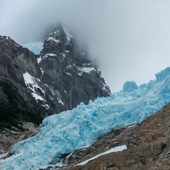 Southern patagonian ice field, bernardo o'higgins national park, patagonia, chile