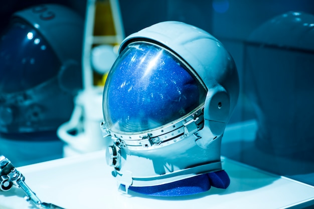 Soviet pilot military space helmet